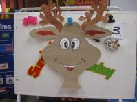 Pin the Nose on Rudolph that I painted