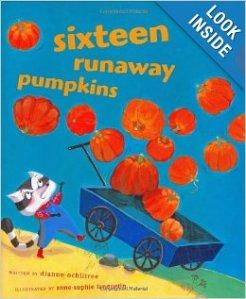 Sixteen Runaway Pumpkins by Diane Ochiltree